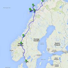 Nordwärts - über die Lofoten und Stø nach Tromsø