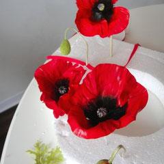 Klatschmohn aus Zucker 2012 von Floralilie