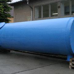 GFK Amoniak-Wäscher vor der Auslieferung