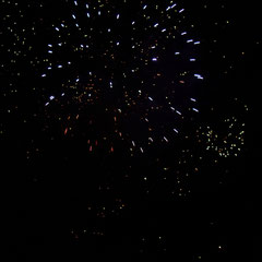 Le traditionnel feu d'artifice de Monchy-Lagache