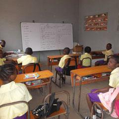 november 2016: Een nieuw leslokaal is in gebruik.