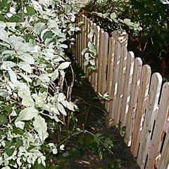 Gartenzaun - klein, aber fein
