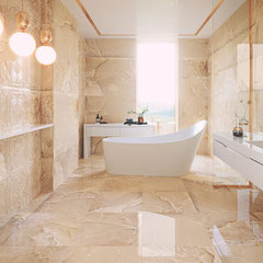 APARICI MAGMA BEIGE #aparici #tiles #stone #marble #naturalstone #inspiration #interiordesign #floortiles #architecture #fliesen #fliesendesign #bodenfliesen #dahofawoas #emanuelhofer