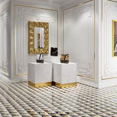 APARICI REGIO FIGARO #aparici #tiles #stone #marble #naturalstone #inspiration #interiordesign #floortiles #architecture #fliesen #fliesendesign #bodenfliesen #dahofawoas #emanuelhofer