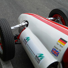That`s racing...Cooper BJ:1952. HA-Querblattfeder, BMW-Boxermotor