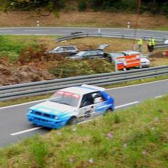 Lancia Delta Integrale EVO 3 Fahrer: Norbert Handa. Allrad 2.0Turbo u. Kompressor mit über 600PS!!!
