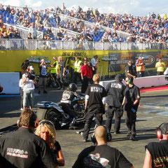 NitrOlympix 2011 Hockenheim. Team Black 7, Christian Jäger VETCAR Racing ist dabei