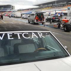 NitrOlympix 2011 Hockenheim. VETCAR Racing ist seit 1989 dabei!