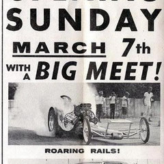 Oldschool Drag-Racing Marketing...