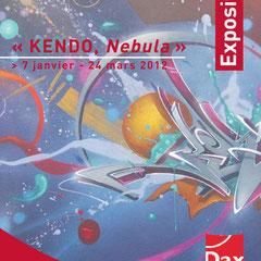 Affiche exposition Nebulae, Musée Borda, Dax.