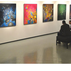 <<Tableaux, Exposition Nebulae, Musée Borda, Dax.