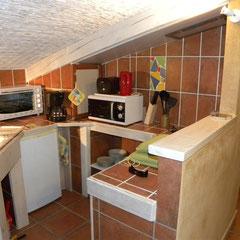 cuisine gite Pays Cathare Gites de France dans l'Aude à Fenouillet du Razes