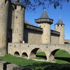 Cité de Carcassonne dans l'Aude