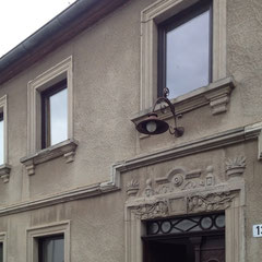 Strassenfassade - Eingang | Bestand