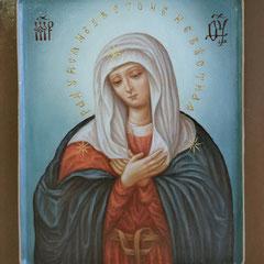 Образ пресвятой Богородицы Умиление.