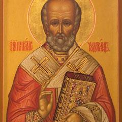 Образ святого Николая Чудотворца.