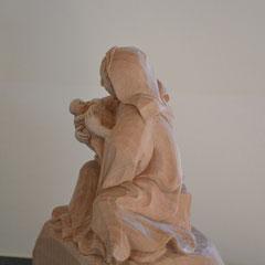 Krippenfiguren handgeschnitzt Maria