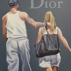 Gemälde 656,DIOR Vol 1,Acryl auf Hartfaserplatte ,2020,30 x 24 cm