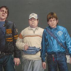 Gemälde 435  Next Generation  Acryl auf Leinwand,2013, 125 x 200 cm
