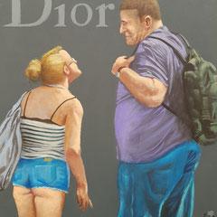 Gemälde 672,DIOR Vol 2,Acryl auf Hartfaserplatte ,2020,30 x 24 cm
