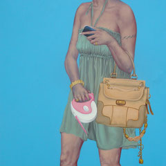 Gemälde 428 Gucci  Geschäfte  Acryl auf Leinwand,2012, 120 x 200 cm