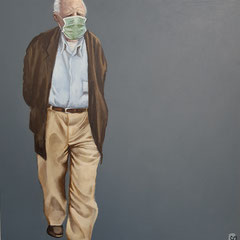 Gemälde 659,LOUIS VUITTON Vol 3 ,Acryl auf Hartfaserplatte ,2020,30 x 24 cm