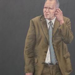 Gemälde 453  Geschäfte  Acryl auf Leinwand,2013, 110 x 200 cm
