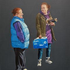 Gemälde 626,DOLCE & GABBANA, Acryl auf Hartfaserplatte,2019, 60 x 80 cm