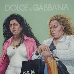 Gemälde 427. D&G, Acryl auf Leinwand,2012, 140 x 160 cm