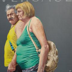 Gemälde 657,VERSACE  Vol 3,Acryl auf Hartfaserplatte ,2020,30 x 24 cm