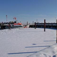 Lister Hafen im Winter