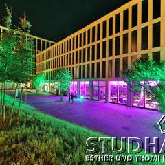 Foyer Zug: Auf dem ehemaligen Siemens-Areal beim Bahnhof Zug ist ein Vorzeigeprojekt für nachhaltiges, ökologisches Bauen entstanden.