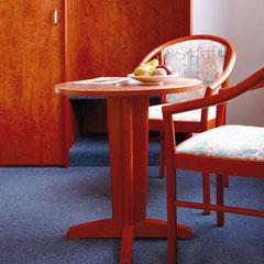 Unsere Sitzecken laden zum relaxen und entspannen ein