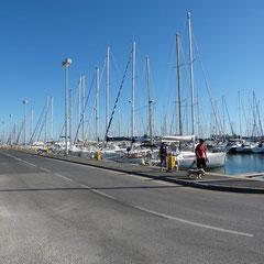 Hafen vor der Nase
