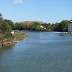 Der Fluß L´Herault