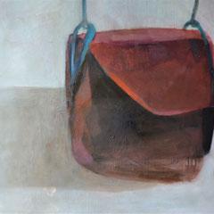 Sac à main, huile sur toile, 145 x 195 cm, 2017