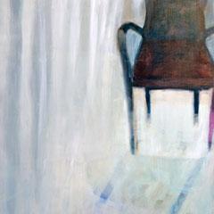fauteuil-mémoire, 195cm x 145cm, huile/toile, 2015