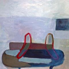 canapé, 145cm x 195cm, huile/toile, 2015