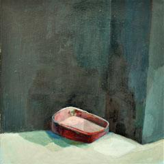 Baignoire, huile sur toile, 40 x 30cm, 2017