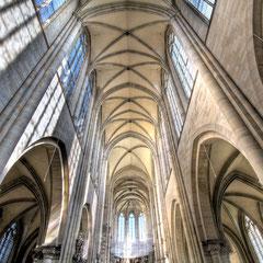 Innenansicht Dom zu Magdeburg St. Mauritius und Katharina