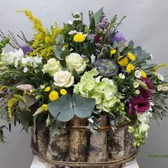 композиции из искусственных цветов купить казанская