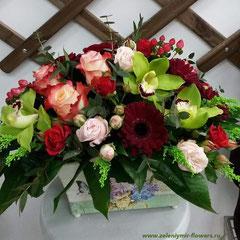 композиция из цветов вешенская купить