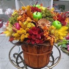 Композиции из искусственных цветов на стол боковская