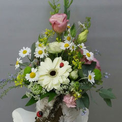 цветочная композиция в коробке купить вешенская