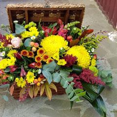 цветочная композиция с конфетами вешенская