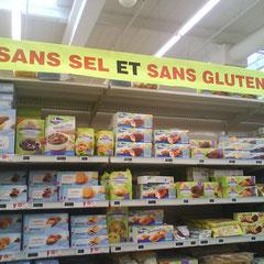 Vue au Auchan du Mans vendredi 30/10/2009