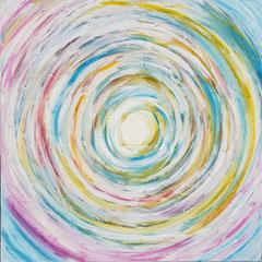 Spirale weiss