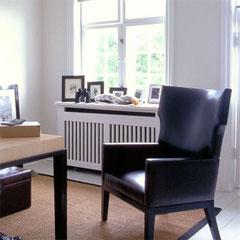 comment cacher le radiateur dans votre salon ? le coffrage sur mesure ! #decoetmatieresvousconseille