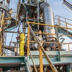 Illustration du savoir-faire - plateforme chimique - Grand Est