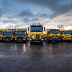 Illustration du savoir-faire - camions - Grand Est